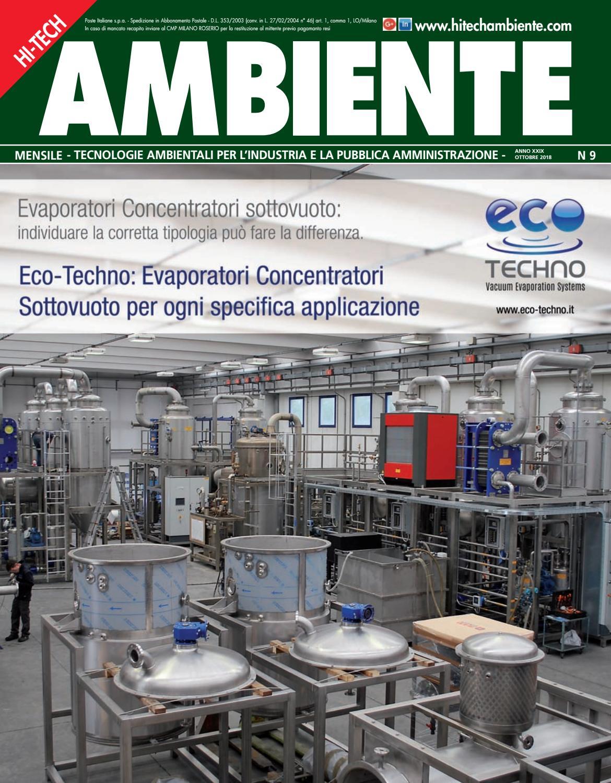 Hi-Tech Ambiente n.9 - Ottobre 2018 by Patrizia Bindi - issuu bb55c8730f3
