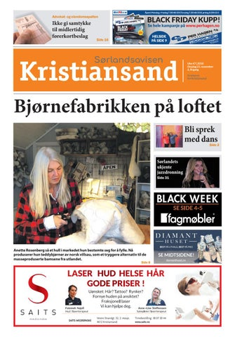 b5697b51 Sørlandsavisen Kristiansand uke 47 by Tvende Media AS - issuu