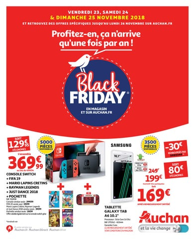 Catalogue Auchan Black Friday By Monsieurechantillons Fr Issuu
