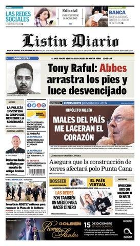 8602c9420ec62 LD 20-11-2018 by Listín Diario - issuu