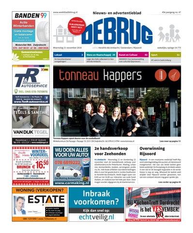 9e884432f1f Weekblad De Brug - week 47 2018 (editie Hendrik-Ido-Ambacht) by ...