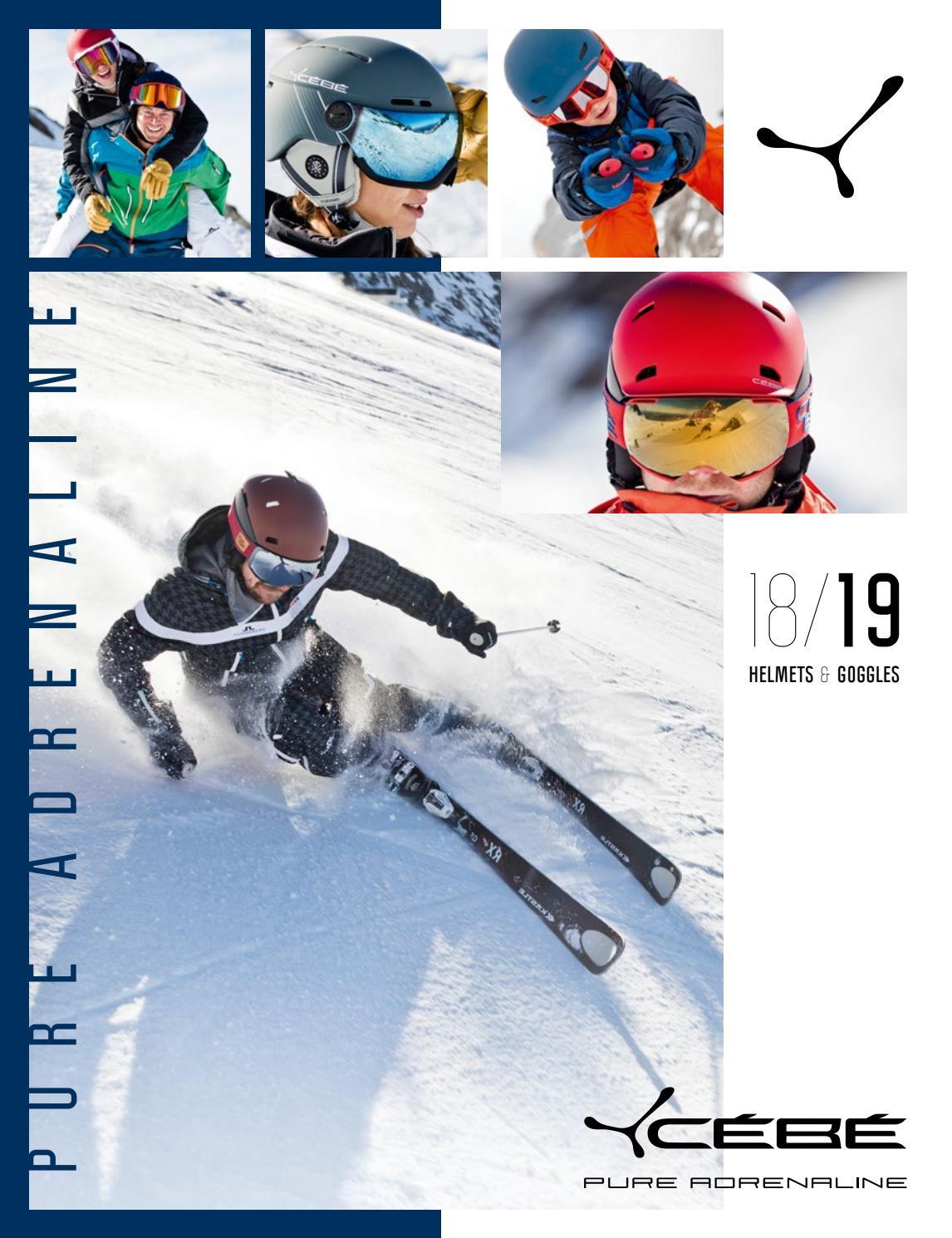 Cébé Striker Outdoor Skiing Goggle available in Black//Blue Medium