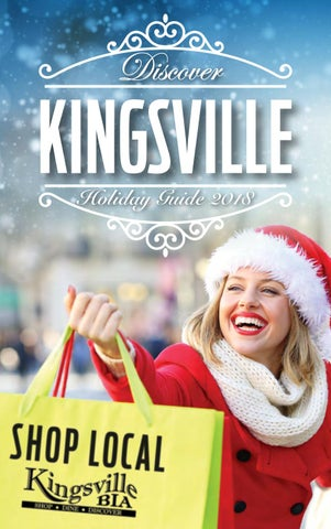 c1a547a82fd2c Discover Kingsville Holiday Guide - 2018 by The Windsor Star - issuu