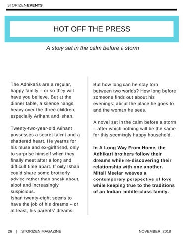 Page 26 of Hot Off the Press - A Long Way Home by Mitali Meelan