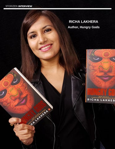 Page 28 of Interview - Richa Lakhera, Author - Hungry Gods