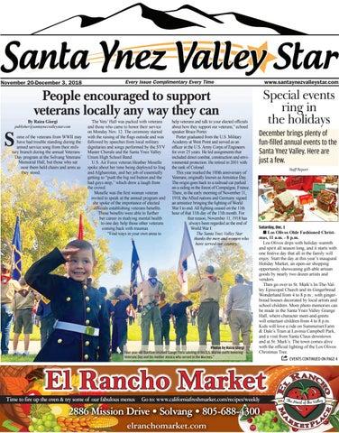 Santa Ynez Valley Star November B 2018 By Santa Ynez Valley Star Issuu