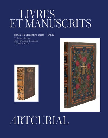 Livres   Manuscrits by Artcurial - issuu 7e1ee55c7461
