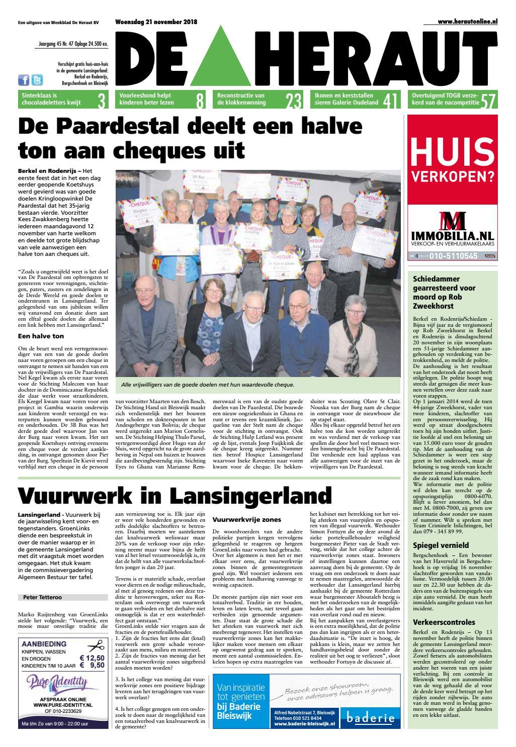 5a727317139caa Heraut week 47 2018 by Nieuwsblad De Heraut - issuu