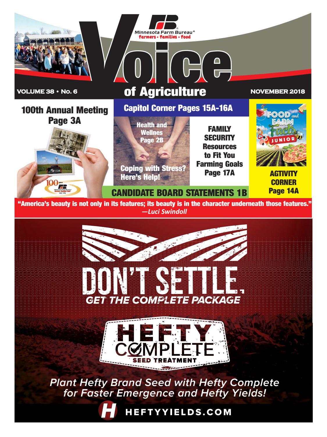 ed580b1662a November Voice of Agriculture by Minnesota Farm Bureau Federation - issuu