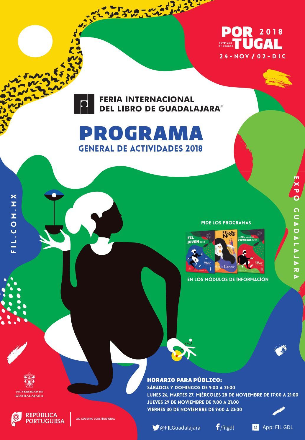 Programa De Mano Fil 2018 By Feria Internacional Del Libro