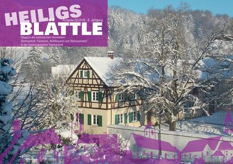 Beate Heinen Weihnachtsbilder.Heiligs Blättle Ausgabe 02 2018 By Andreas Hollacher Issuu