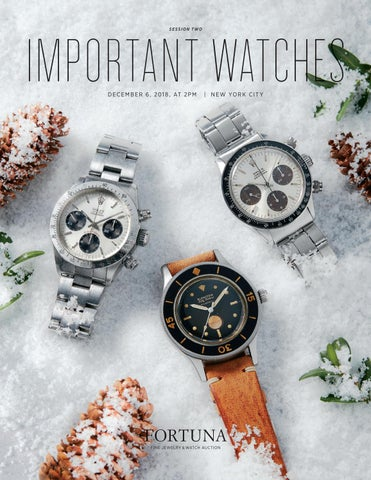 dac10c0332f December 2018 Important Watches by Fortuna Auction - issuu