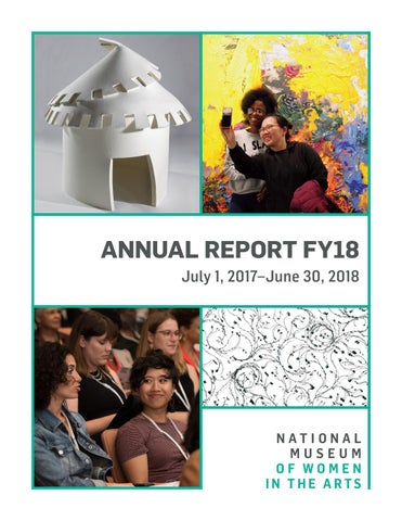 National Museum of Women in the Arts Annual Report 2018 by Women in