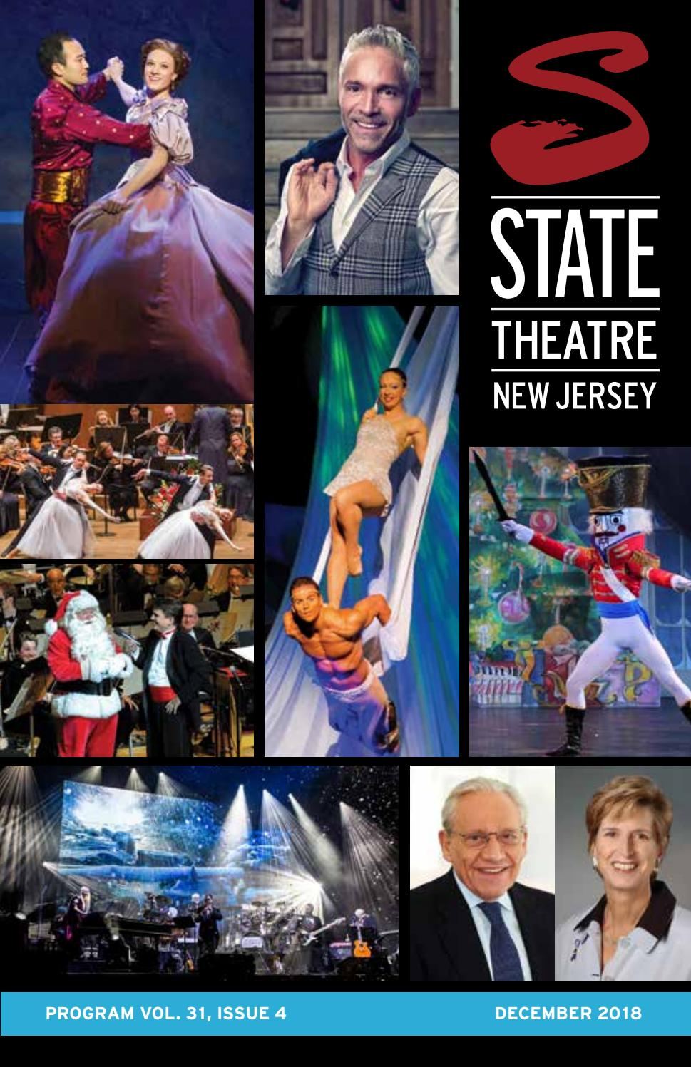 State Theatre New Jersey Program, Vol 31, Issue 4 by State