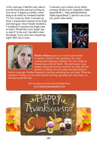 Page 25 of Hello, My Name is Heather and I'm a Bookaholic