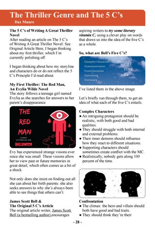 Page 30 of The Thriller Genre and the Five C's