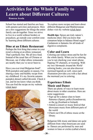 Page 40 of Activities for the Whole Family to Learn about Different Cultures