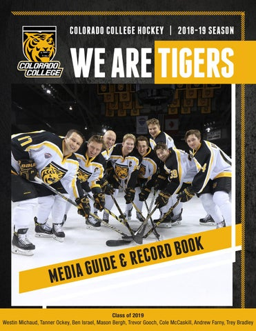 15c04756a 2018-19 Colorado College Hockey Media Guide & Record Book by ...