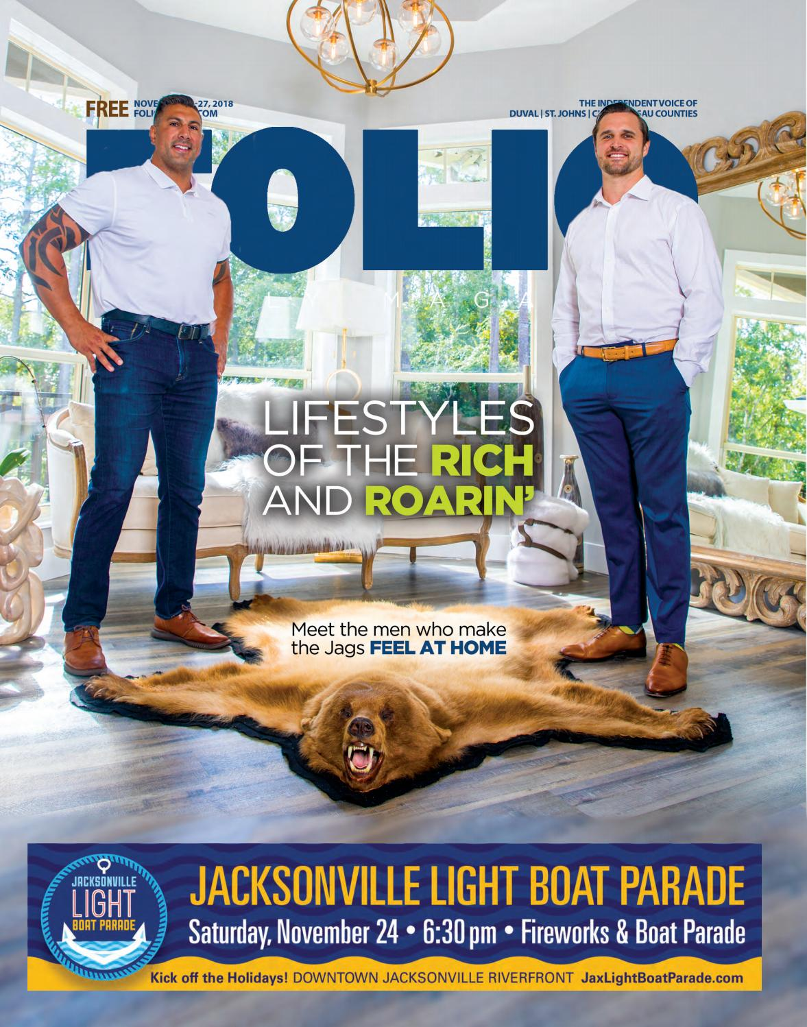 quality design a611e cbb6d Lifestyles of the Rich and Roarin  by Folio Weekly - issuu