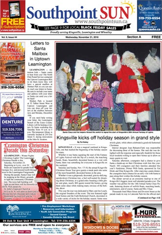 Southpoint Sun Nov 21 2018 By Southpoint Sun Issuu