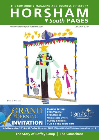 8013b4427ede Horsham Pages South Dec Jan 19 by Carnah Events Ltd - issuu