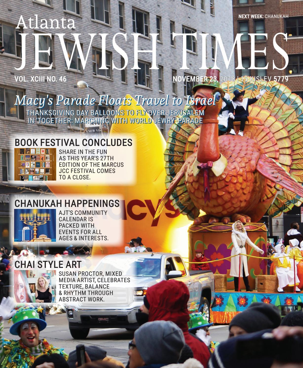 Atlanta Jewish Times Vol Xciii No 46 November 23 2018 By 15 Conductive Marker Create A Magical Circuit Board Christmas Village Issuu