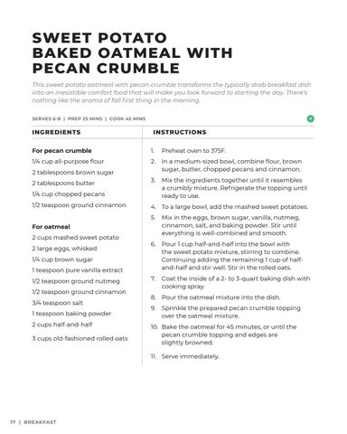 Page 18 of Sweet Potato Baked Oatmeal with Pecan Crumble