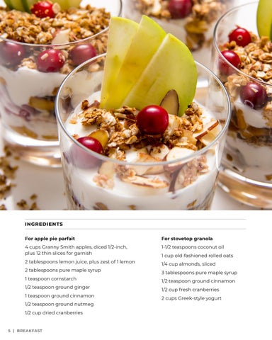 Page 6 of Apple Pie Yogurt Parfait with Cranberries