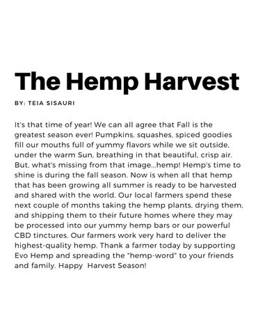 Page 5 of Hemp Harvest