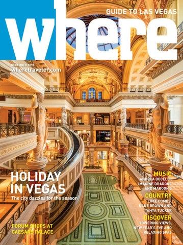 12566882e4 Where Magazine Las Vegas Dec 2018 by Morris Media Network - issuu