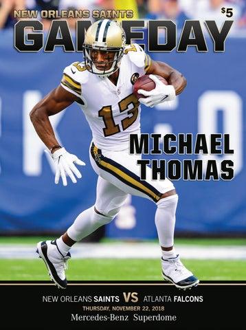 73218613 New Orleans Saints Gameday | New Orleans Saints VS Atlanta Falcons |  Thursday, November 22, 2018