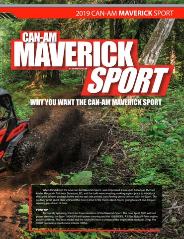 Page 55 of 2019 Can-Am Maverick Sport First Drive