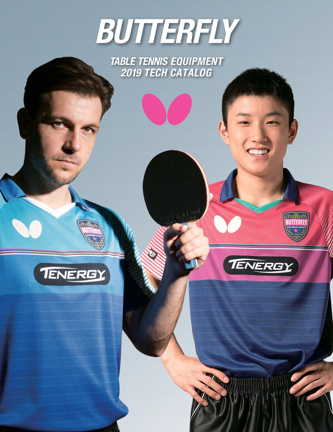 Butterfly Table Tennis Polo Shirt – EDGE Engineering and