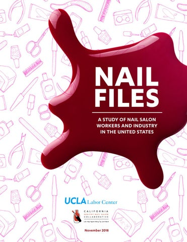 DRAFT) NAIL FILES: Study of Nail Salon Workers and Industry