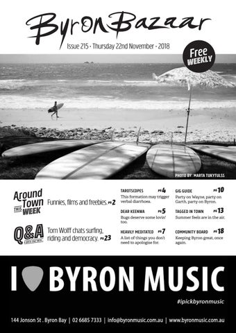 78e700bbc0a Byron Bazaar Thursday 22nd November 2018 by Byron Bazaar - issuu
