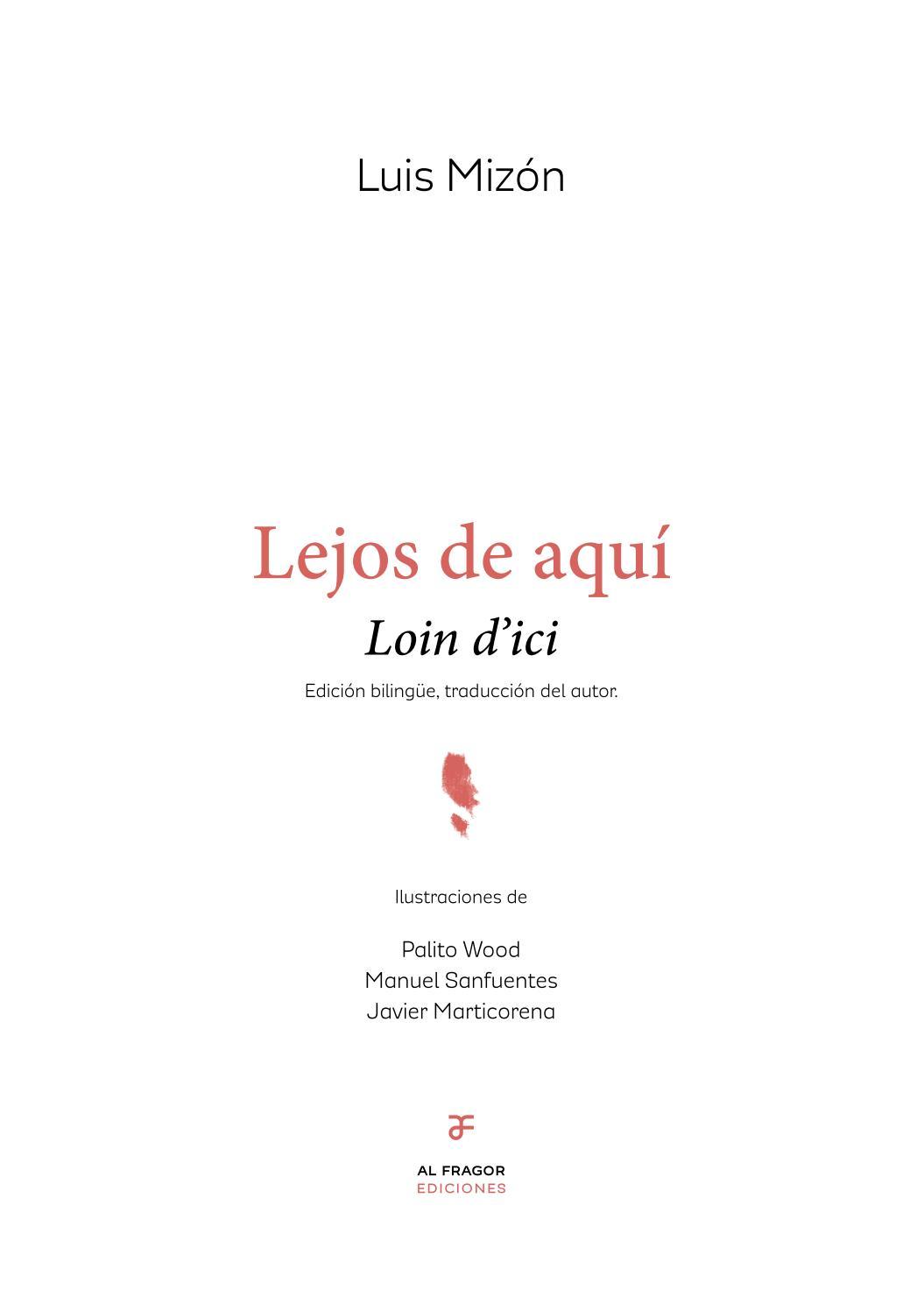 Lejos De Aquí Loin Dici By Ediciones Al Fragor Issuu