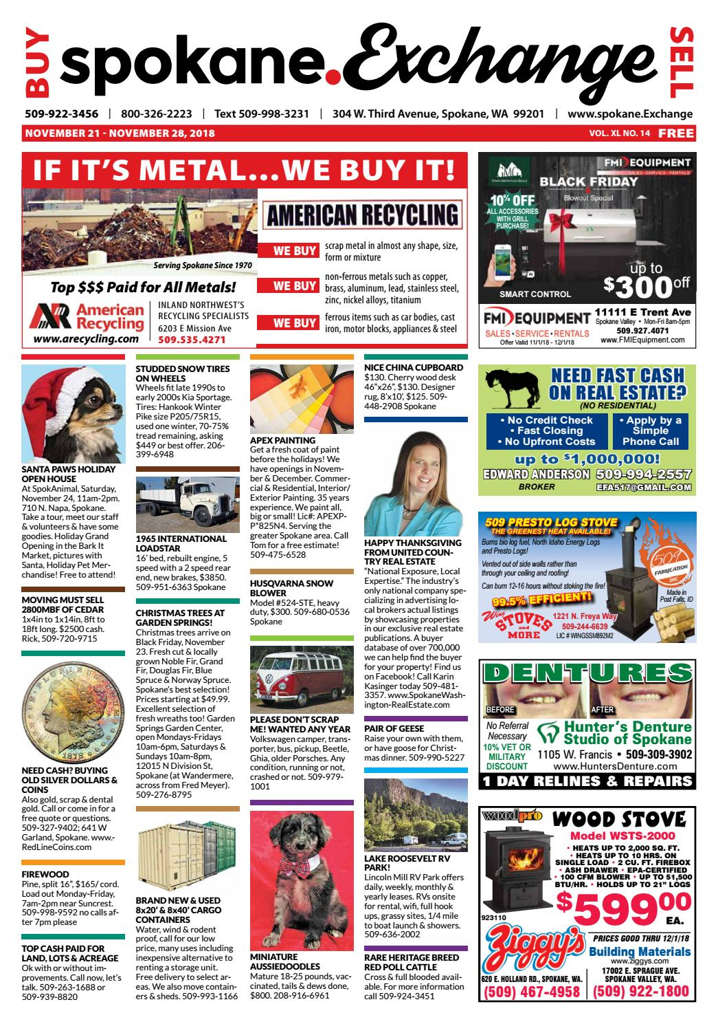 The Exchange - November 23, 2018 Issue by Exchange ... on