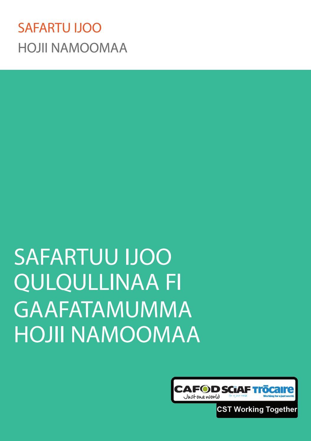 Core Humanitarian Standards (Oromiffa) by Samson Haile - issuu