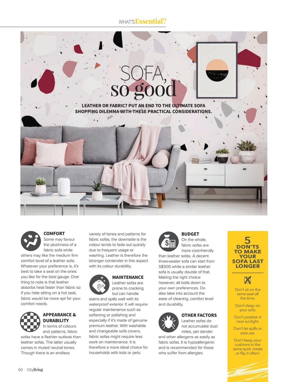 Marvelous City Living Inaugural Issue 2019 By Gain City Issuu Customarchery Wood Chair Design Ideas Customarcherynet