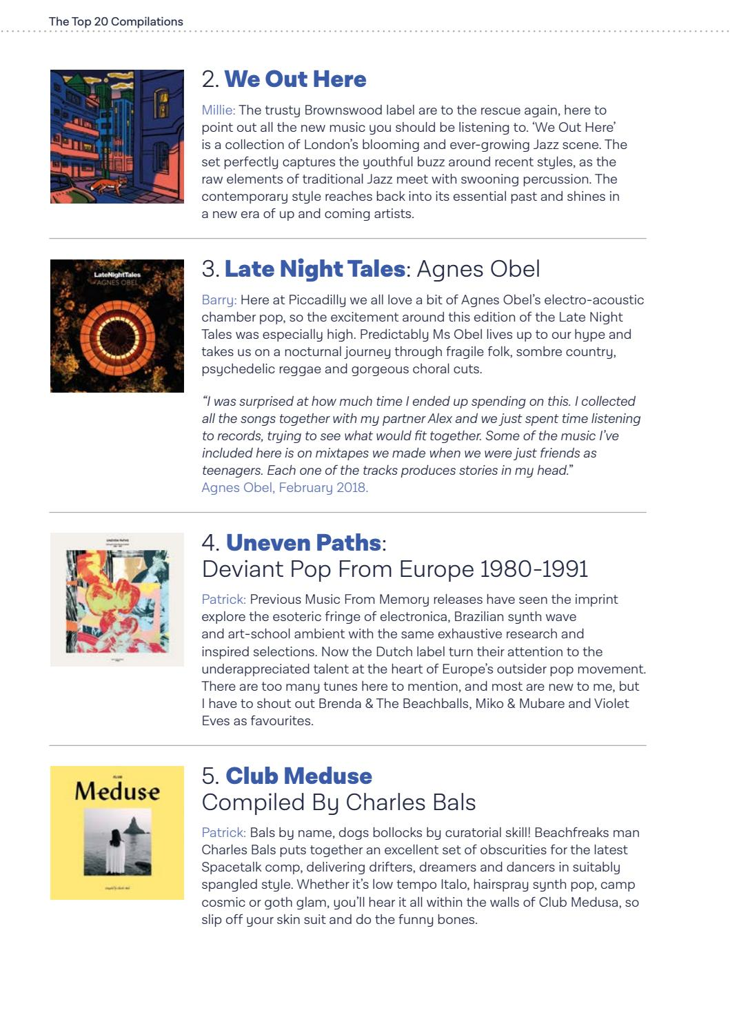 Piccadilly Records End Of Year Review 2018 by Piccadilly Records - issuu