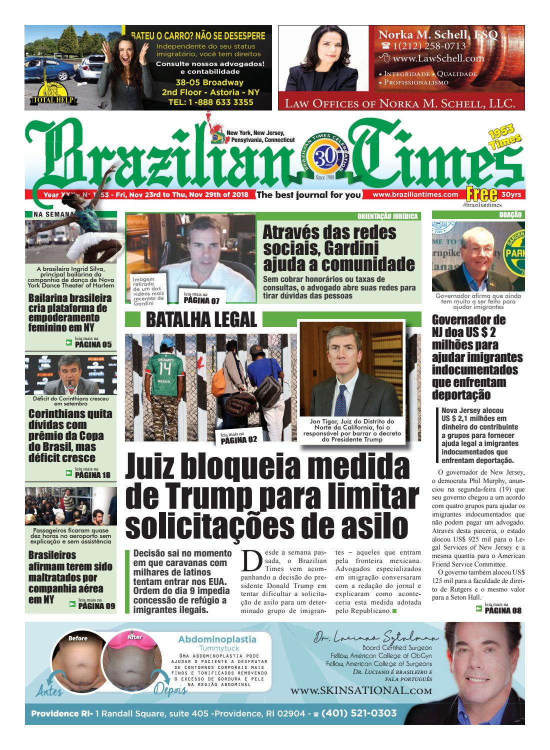 NY 1953 by The Brazilian Times Newspaper - issuu 9b2dc7e2ad7