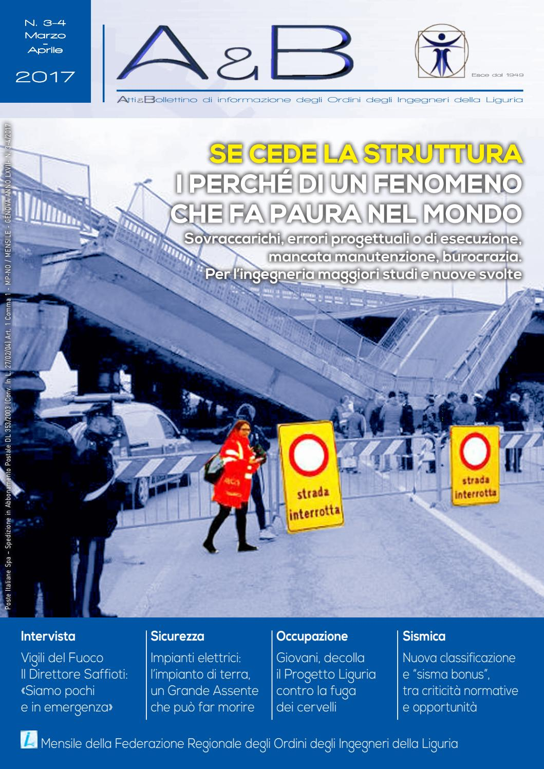 Ordine Ingegneri Potenza Albo a&b n. 03/04 anno 2017 by ordineingegnerigenova - issuu