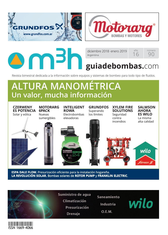 ced8fdce21e9 M3h 90 by M3h · Guia de Bombas - issuu