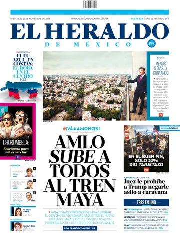 04de8131cc 21 de noviembre de 2018 by El Heraldo de México - issuu