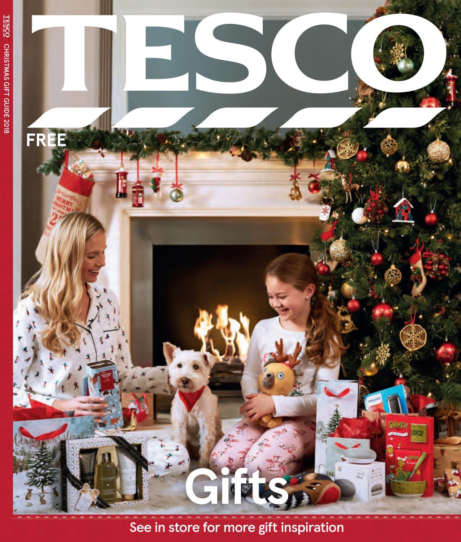 Tesco gift guide 2018 by tesco magazine issuu