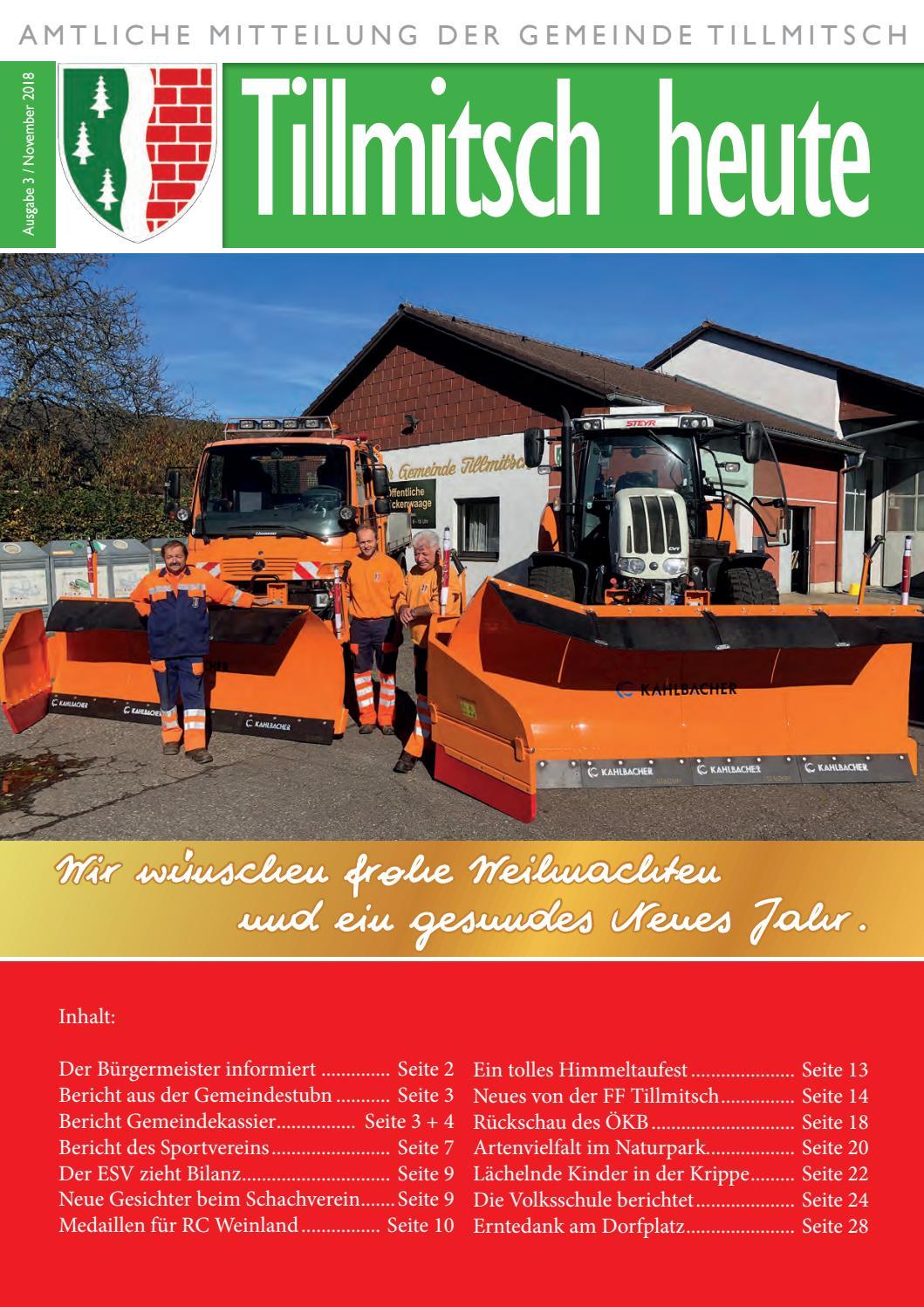 Kolumne: Willkommen in Tillmitsch - Leibnitz - forsale24.net