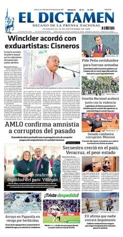 El Dictamen 21 de Noviembre 2018 by El Dictamen - issuu fdc6079e70b94