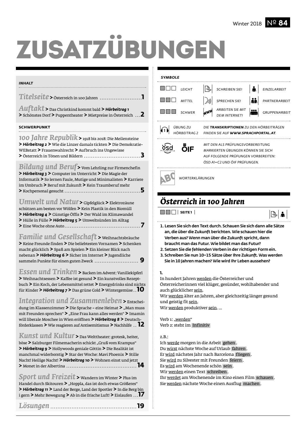 Grats Zusatzubungen Osp 84 By Osterreichischer Integrationsfonds Issuu