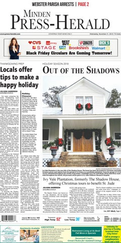 11-21-2018 MInden Press-Herald e-Edition by Minden Press
