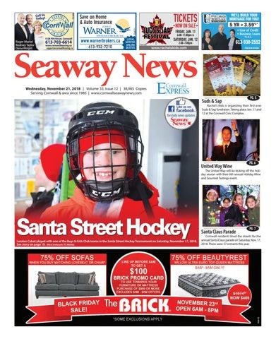 Cornwall Seaway News November21 2018 Edition By Cornwall Seaway